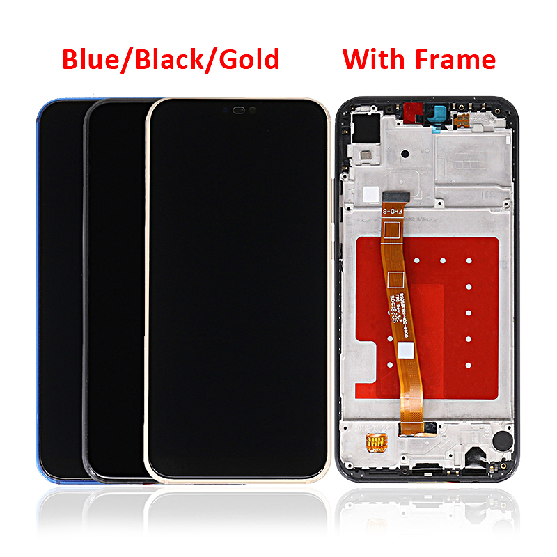 Mobile Phone Parts Display For Huawei P20 Lite LCD Touch Screen With Frame For Huawei Nova 3E Screen
