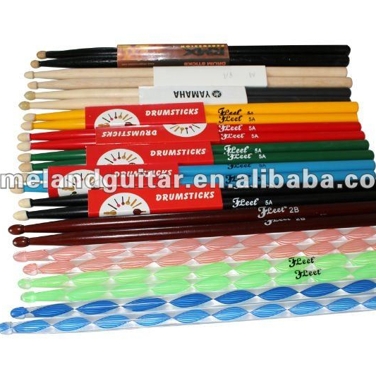 Muziek Merk Drum Stok Maple/Acryl Drumsticks