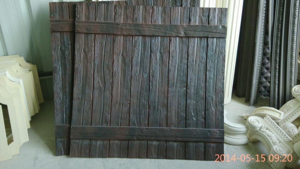 Decorativos De Poliuretano Imitación Madera Paneles Para La ...