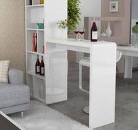 30% off discount Painting simple modern livinng L shape desk bar table