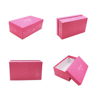 small MOQ wholesale colorful currugate shoes paper packing boxes