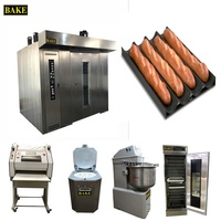 Factory price small bread bakery equipment/full set bread making production line