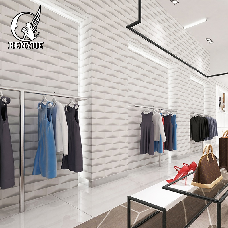 modern simple <strong>design</strong> 3d brick wallpaper wall coating material for home shop cafe decoration