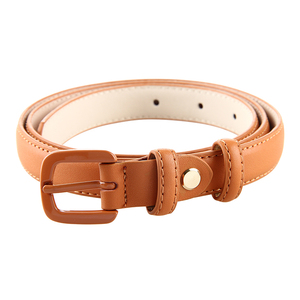 New Design Camel Brown Belts for Women Brand