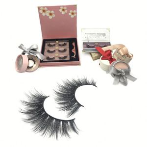 Private Label Individual Silk Eyelashes Extensions Synthetic Lashes 3d