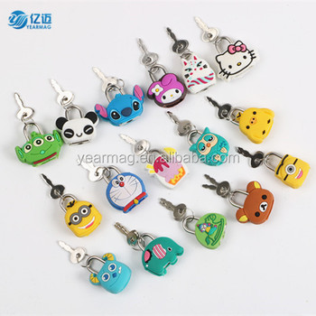 Wholesale Mini Cute Animal Shaped Key Lock in Stock with Cheap Price