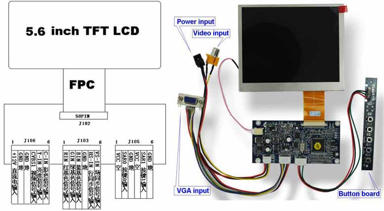 Ultra Bright Mipi Dsi Interface Lcd Display