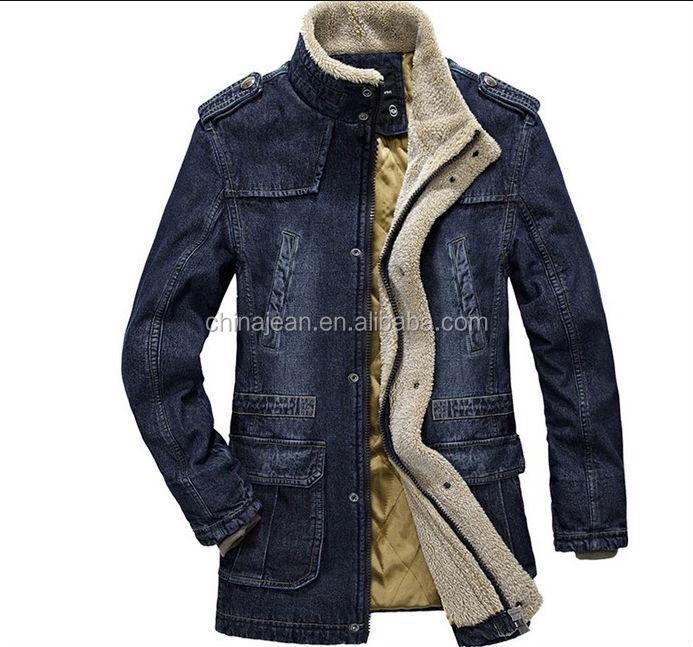 Jeans mantel herren