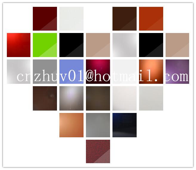 Hoogglans acrylaat plaat hout ontwerp voor kleding kastdeur buy product on - Kleur selectie ...