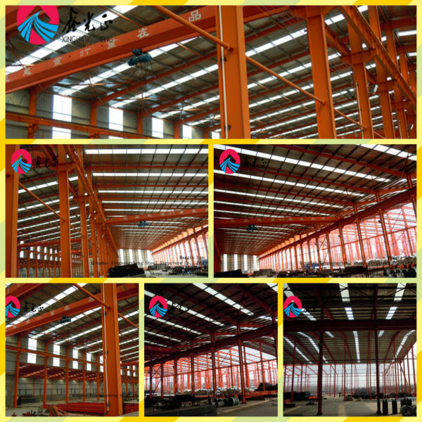 light steel structure prefabricated warehouse construction pre fabricated steel frme warehouse building