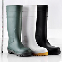Non Leather Work Boots,Water Boots For Work,Worker Rubber Boot W ...