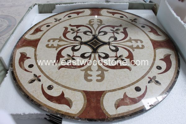 Mosaic Floor Tile Garden Floorstone Tile Floor Marble Paving Stone