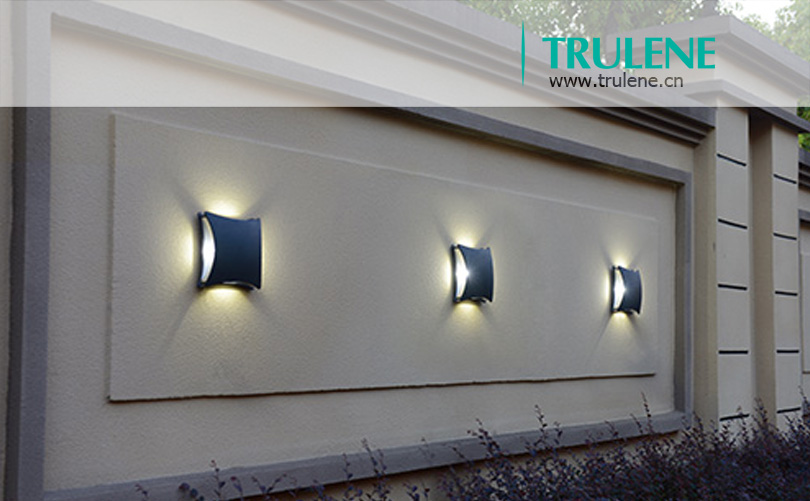 4 1w Led Four Way Glow Outdoor Wall