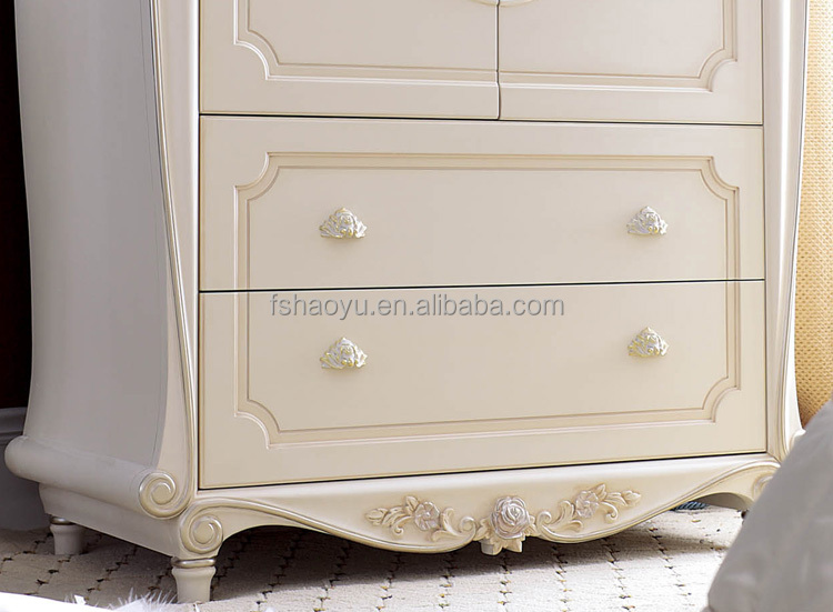 French Style Wooden Almirah Designsivory Bedroom WardrobeJLBH - Wooden almirah designs for bedroom