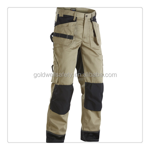 Men With Many Pockets Cotton Oil Field Industrial Workwear