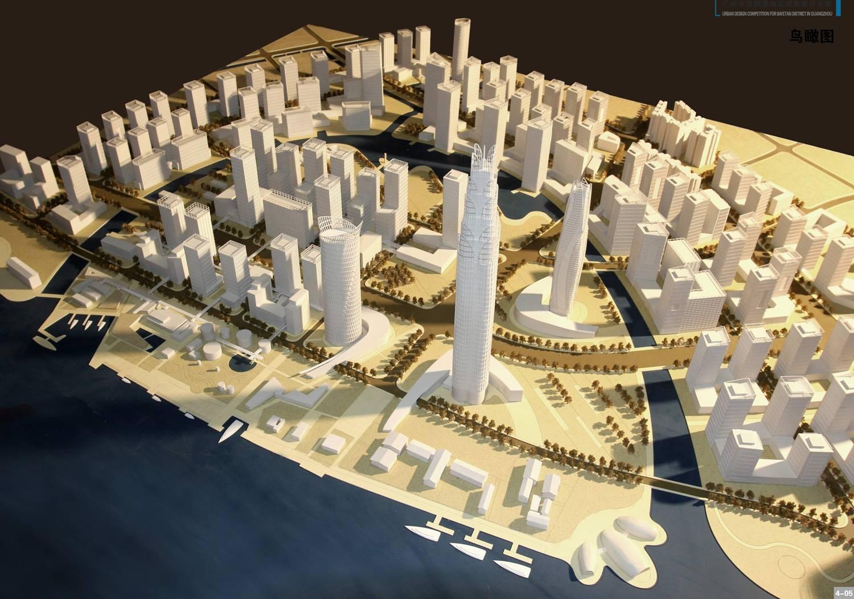 Building Architectural Models lighting miniature architectural models for industrial building