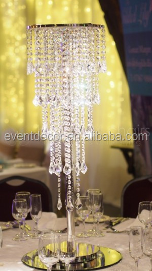 Wedding Crystal Chandelier Centerpieces Table Chandeliers