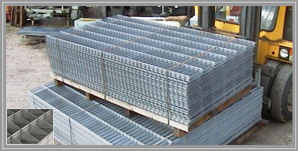 Hot dipped galvanized welded wire mesh hog fence buy