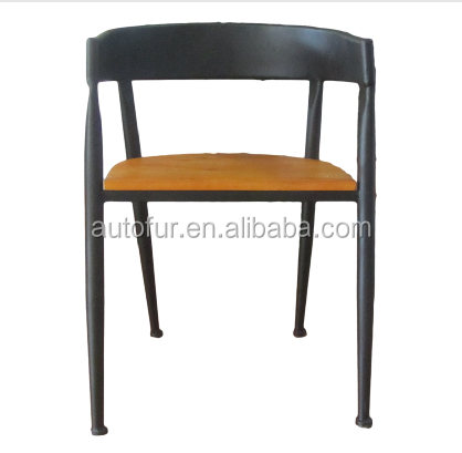 Old Style Antique Wooden Kitchen Chairs Tubular Furniture Frame Chairs