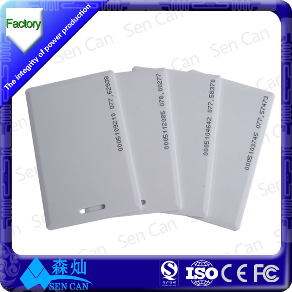 Promotion Whole Blank Pvc Card Super Quality Id