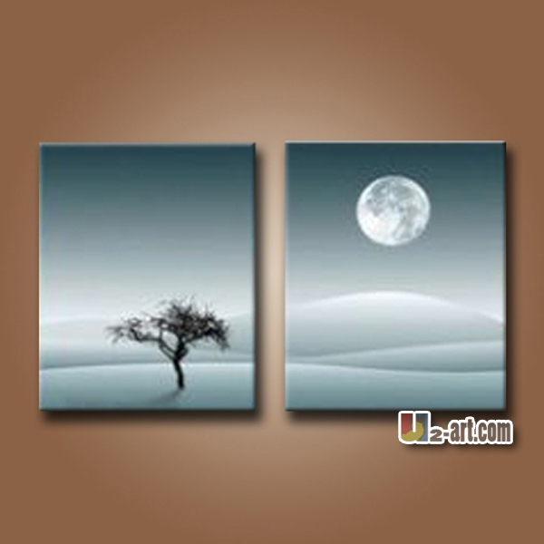 Painting For Bedroom moon and plain natural scenery art painting for bedroom - buy