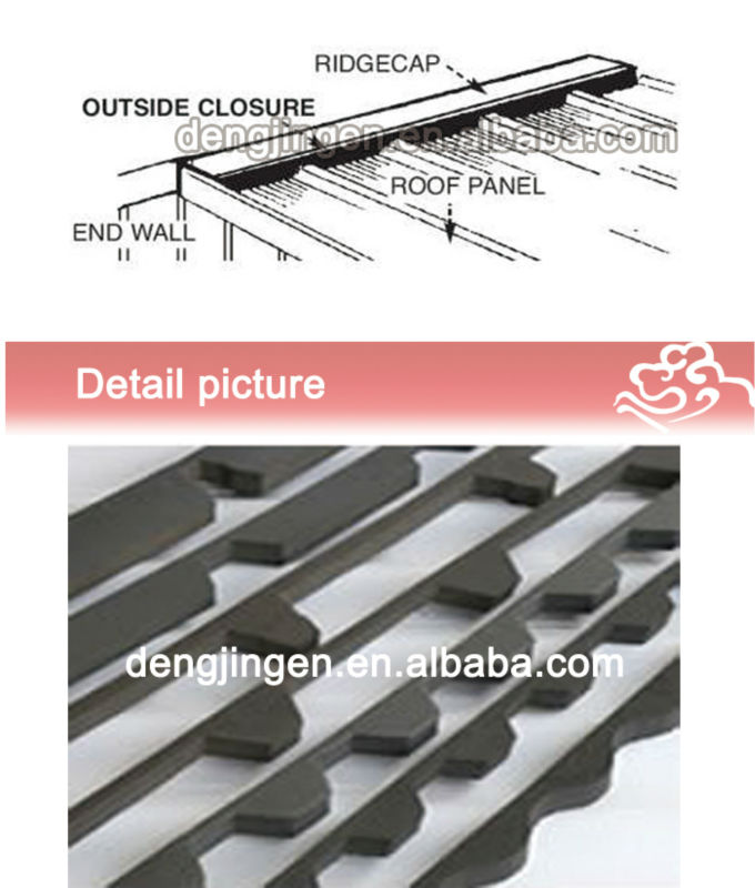 Rainproof Weatherstrip Windproof Complete Corrugated Metal