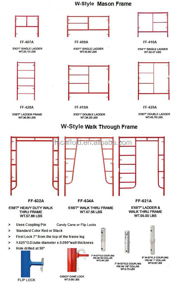 H Frame Scaffolding Buy H Frame Scaffolding High Quality