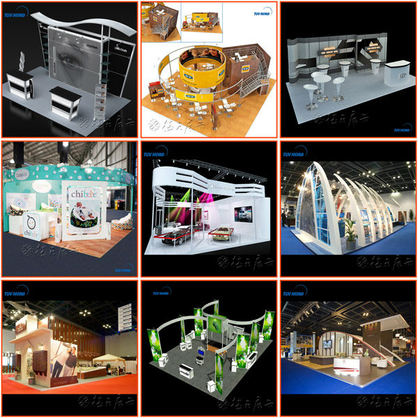 Big Exhibition Stand Design : Exhibition stand aluminum booth design and