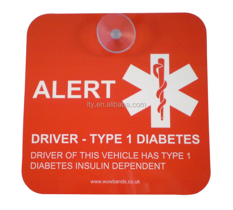 Diabetic Car Decal T1d Living Diabetes Blog T1d Living