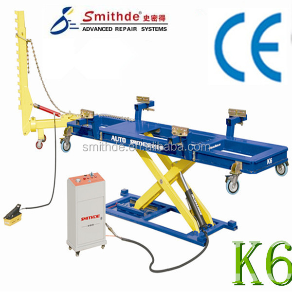 yantai smithde most popular k6 auto collision repair systemcar o liner frame machine