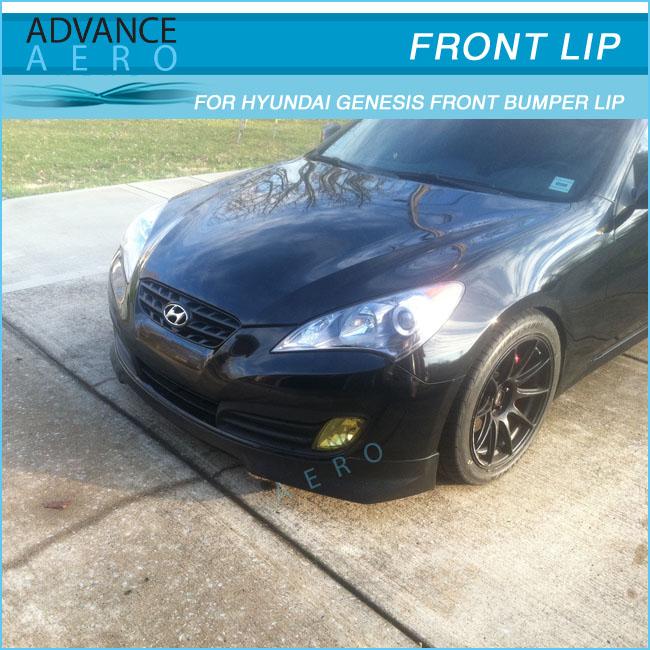 For 10 11 12 Hyundai Genesis Coupe Evo Style Pu Lip Diffuser ...