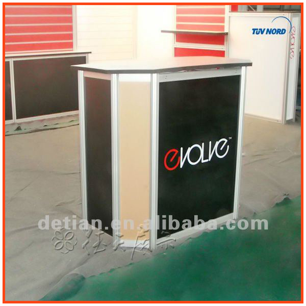 Exhibition Stall Reception : M m light collapsible and portable reception desk or display