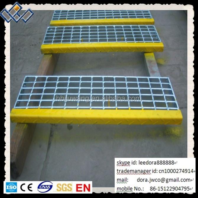 Hebei Anping Steel Stair Treads Grating Stair Tread