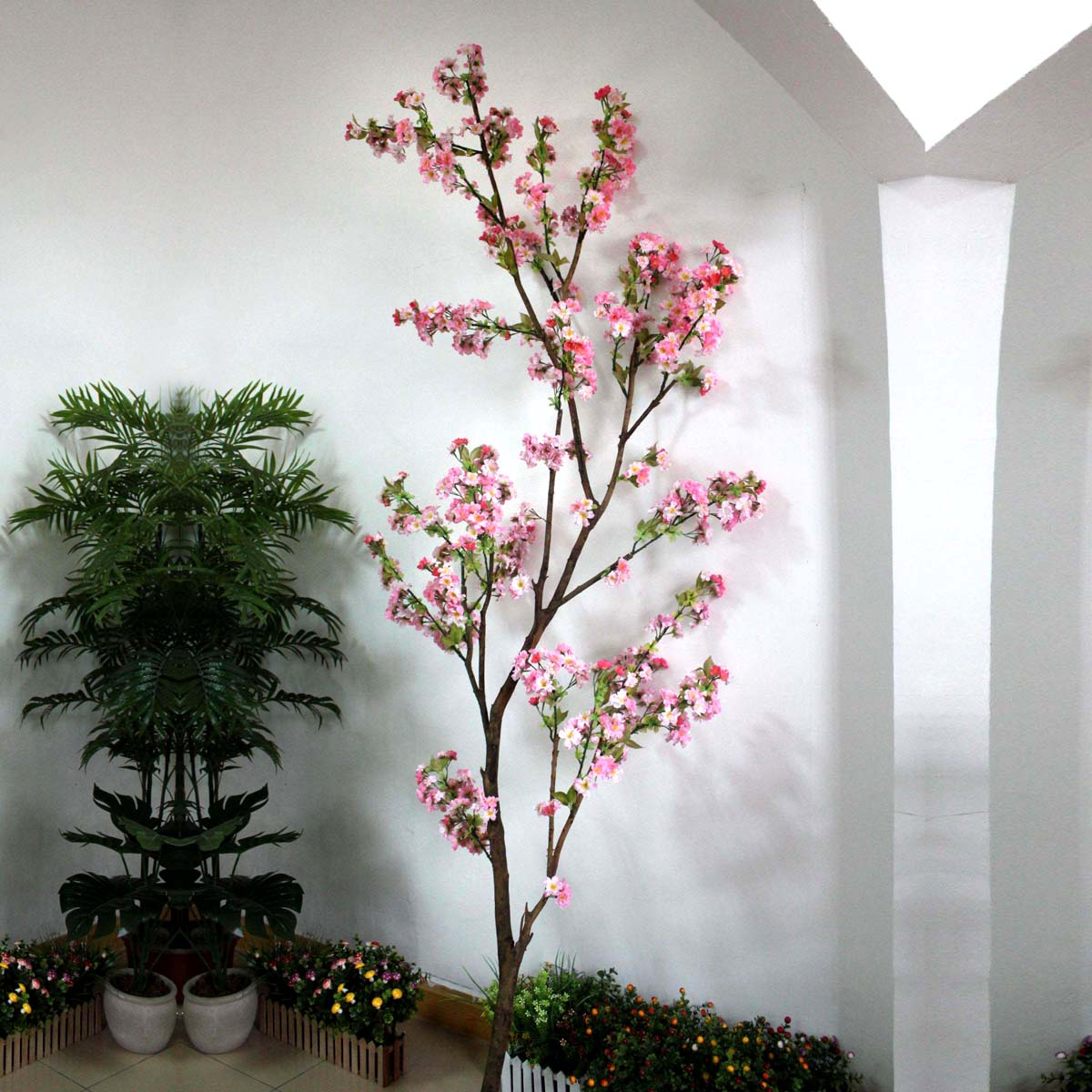 Gnw bls020 artificial cherry blossom tree branch for for Artificial cherries decoration