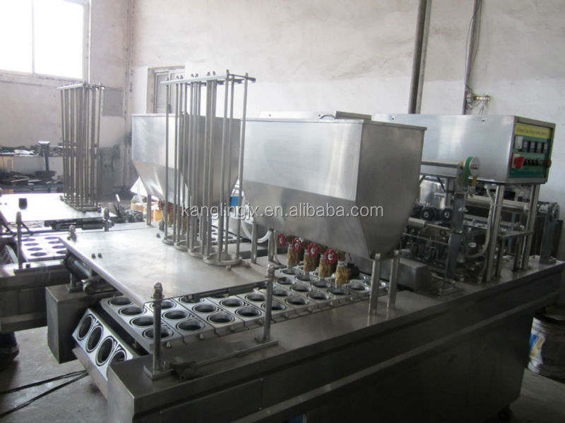 Customized Cup Packaging machine for cup filling sealing ( liquid, semi-liquid, powder, etc)