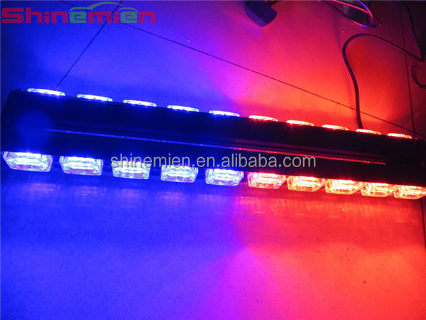 Redblue led warning light barled security vehiclesled light bar redblue led warning light barled security vehiclesled light bar aloadofball Image collections