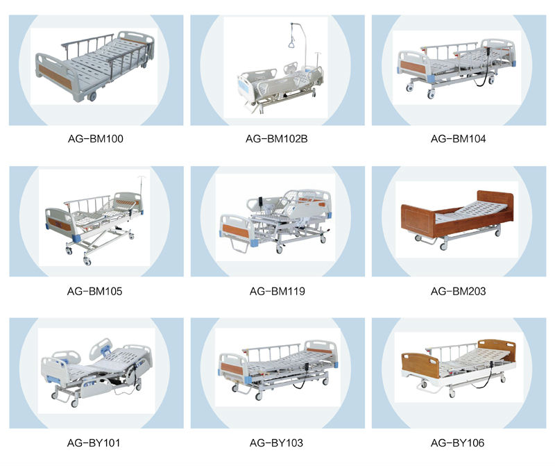 Ag c101a03 With Low Position Design Ldr Bed Medical