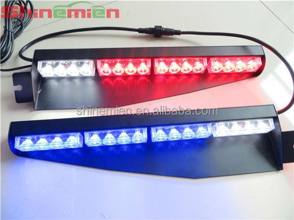 Led Visor Light/led Strobe Dash Light Bar With Suction Cups ...
