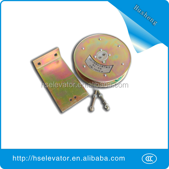Elevator closing devices, lift elevator door parts