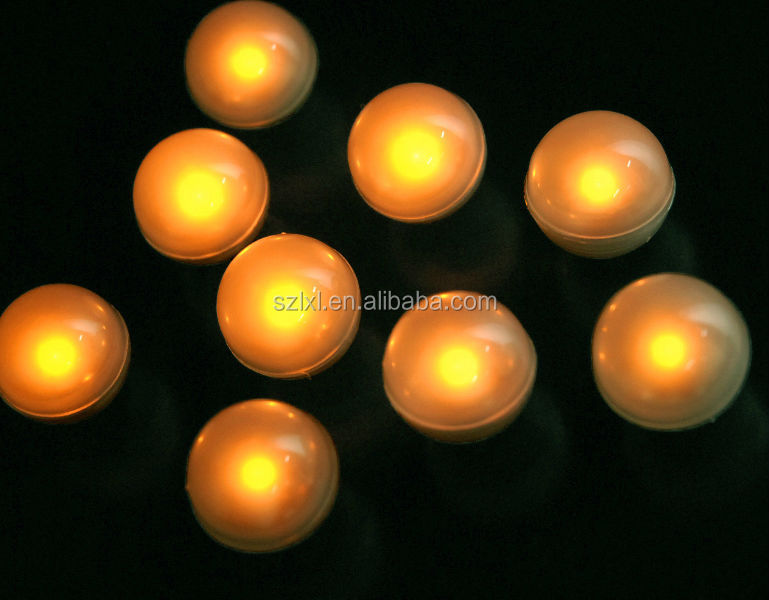 Water Floating LED Fairy Pearls /Glowing on and off Magic LED Fairy Orb Light/2cm LED ball light for wedding Decoration