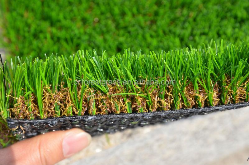 Artificial Gr Direct Factory High Quality U Shape Landscape Turf Pu Backing Lawn Forestgr