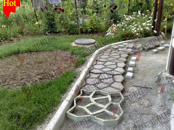 Random Pattern Cement Form For Pathway - Buy Pathmate Concrete ...