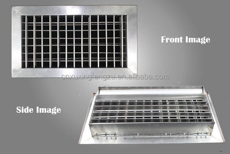 Ventilation Ceiling Adjustable Stainless Steel Vent Covers