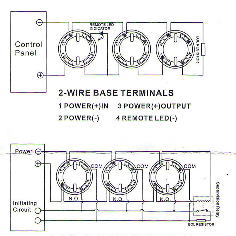 heat detector wiring diagram wiring diagram h8 Idependent Motion Detector Wiring Diagram at 2 Wire Heat Detector Wiring Diagram