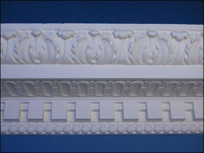 High quality plaster of paris cornices gypsum cornices for for Advanced molding and decoration