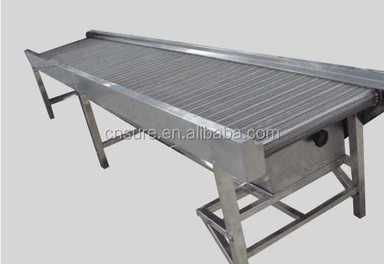 Food Grade Pvc Belt Inspection Conveyor Trimming Table