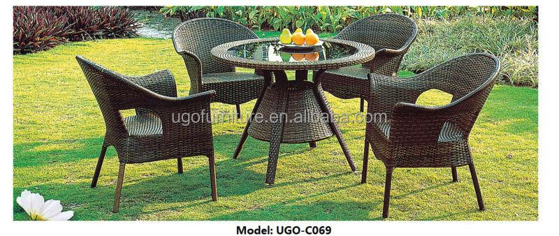 Ugo Muebles De Jardín Liquidación Mesa De Comedor Y Sillas - Buy ...