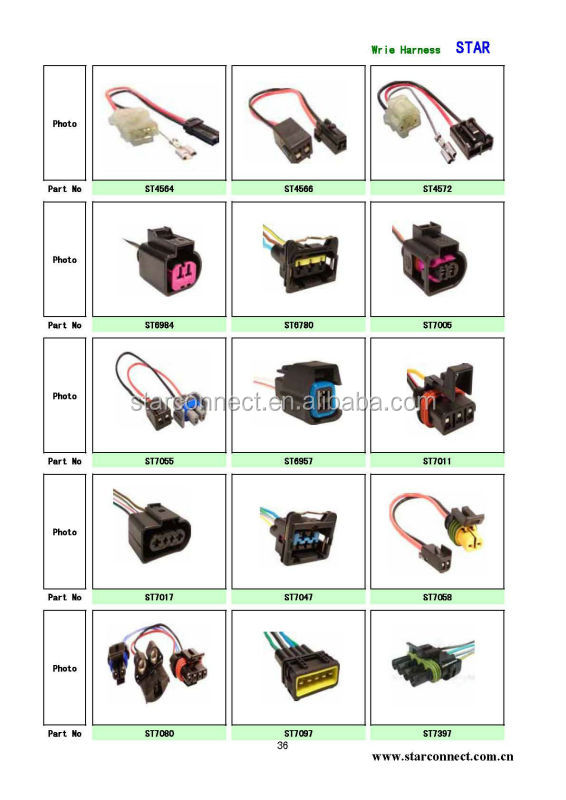 1 Way Automotive Electrical Connector Types 715843451 on oem automotive wiring harness connectors