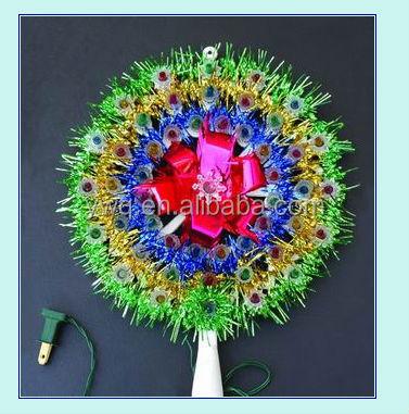 Decorative New Design Beautiful Multi-colored Christmas Star Led ...