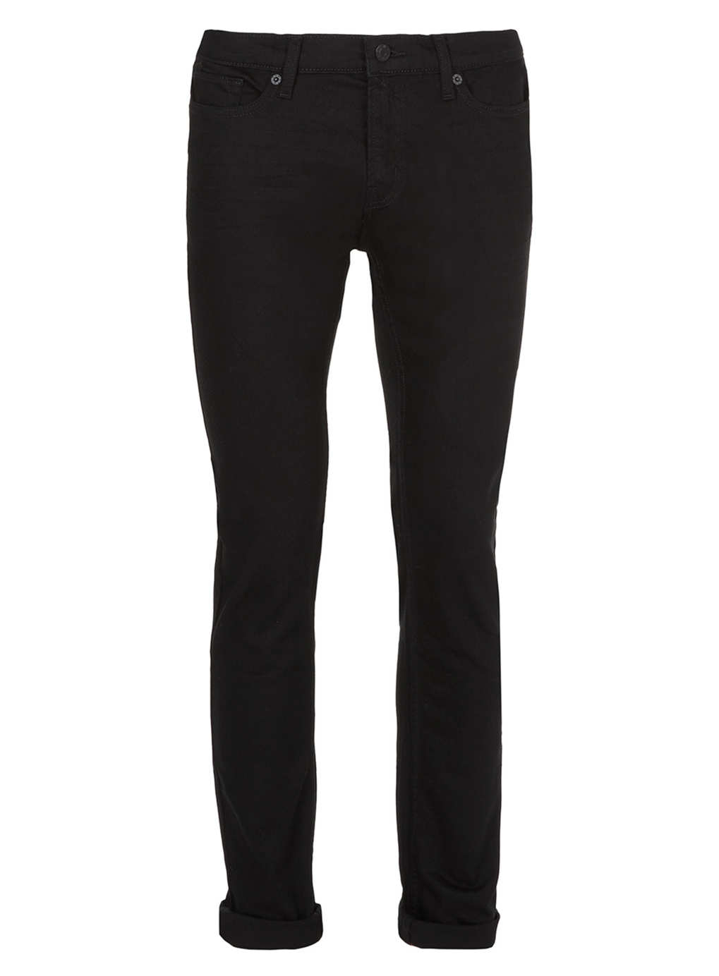 Black Stretch Skinny Jeans Mens